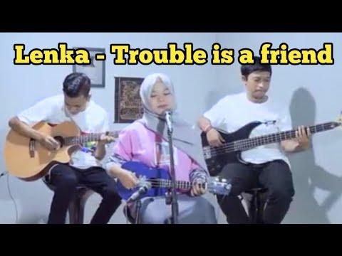 Trouble is a friend - Lenka cover fera chocolatos versi ukulele