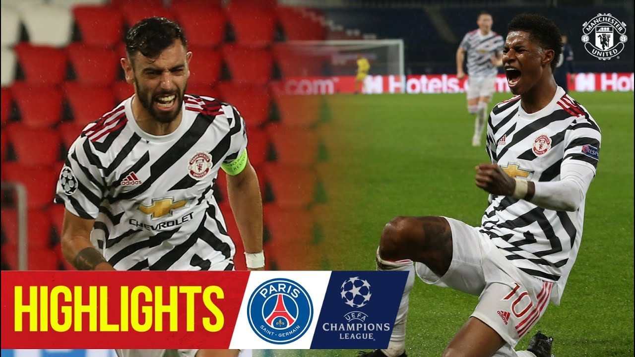 Highlights | Rashford wins it late in Paris again! | PSG 1-2 Manchester United | Champions League