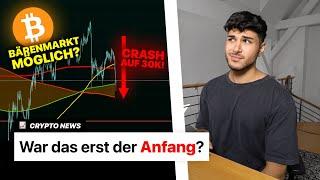 Bitcoin CRASH! Evergrande Skandal: bald noch TIEFER? | Crypto News