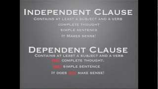 Independent VS Dependent