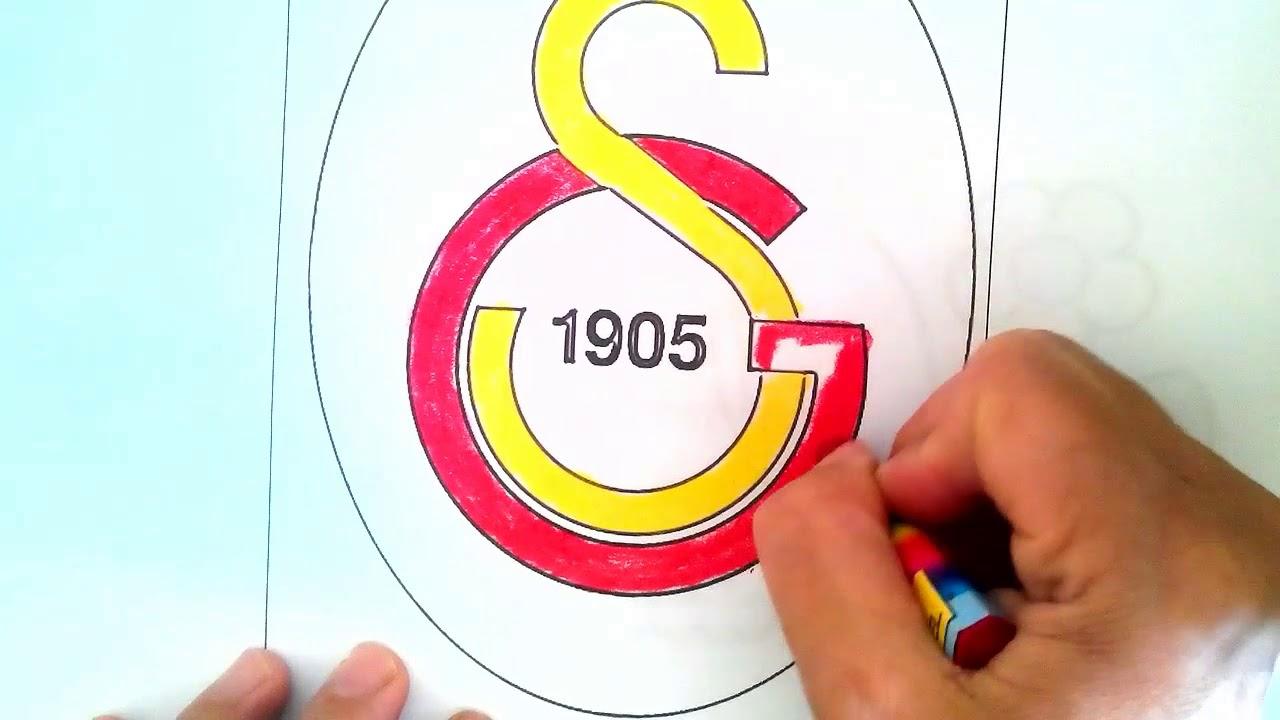 Galatasaray Gs Boyama Ciz Ve Boya Youtube