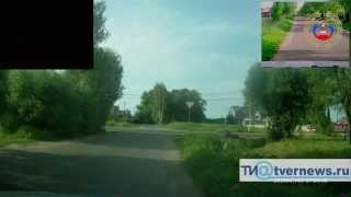 В Твери пьяный водитель, уходя от ДПС  устроил, аварию(, 2015-07-06T12:51:24.000Z)