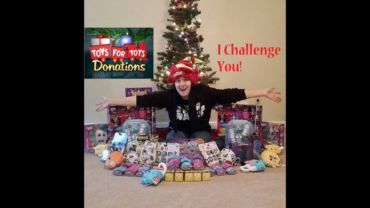 Toys For Tots Challenge Huge Toy Hunt Donation Drop Off