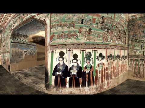 Flying in the Cave of Mogao 61 - 360 VR video