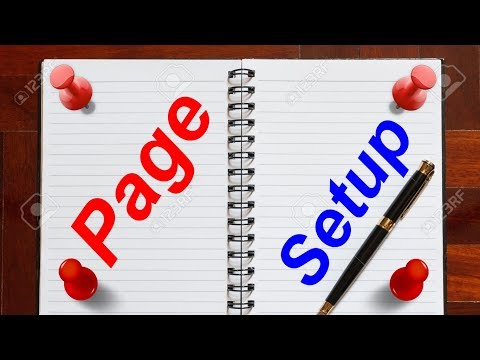 Excel magic trick 49 bangla - Page Setup