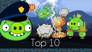 Bad Piggies | TOP 10 GREATEST HITS 2015! (Field of Dreams)