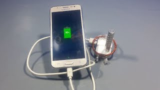 free energy mobile charger at home using magnets | science projects