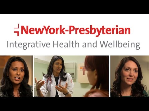 Integrative Health and Wellbeing at NewYork Presbyterian