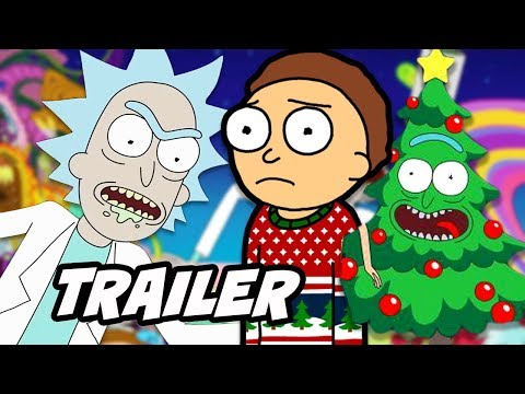 Rick and Morty Holiday Trailer and Season 4 Premiere Date Interview Breakdown