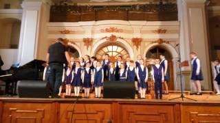 Детский хор французская песня Алюэтэ