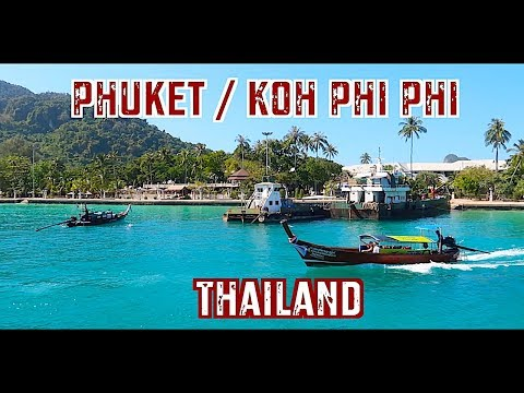 PHUKET Ferry: How To Get To KOH PHI PHI Island | Thailand Ferry Guide