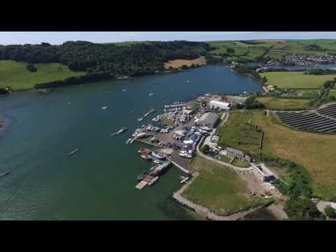 Millbrook, Cornwall (DJI Phantom 3A)