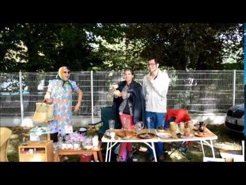 Gigi en Balade à Soissons le 31/08/14 pour la Brocante...