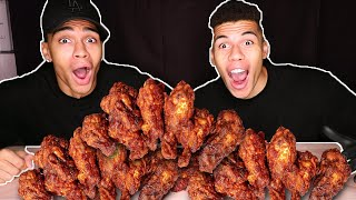 CHICKEN WINGS CHALLENGE !!! | PrankBrosTV
