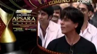 Shahrukh Khan Apsara awards 2010