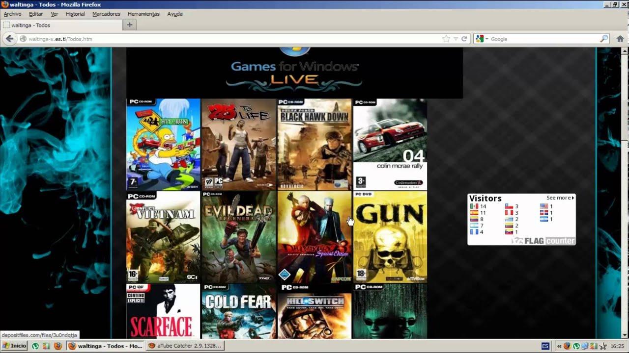 paginas para descargar juegos de emuladores