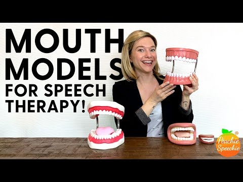 Mouth Models for Speech Therapy
