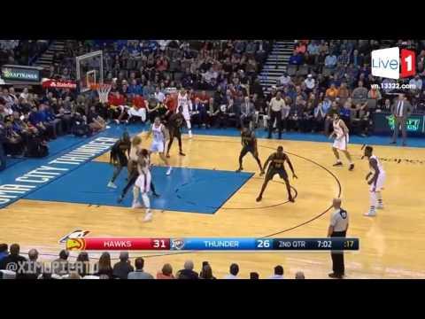 🏀 Atlanta Hawks vs Oklahoma City Thunder - Full Game Highlights - Dec 19, 2016 - 2016-17 NBA Season