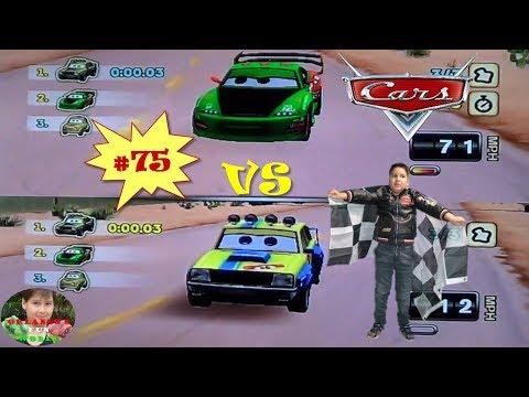 DISNEY PIXAR CARS - MATER NATIONAL - PART#75 - NORTH WILLYS BUTTE - KOJI VS GUDMUND