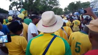 Mamelodi Sundowns fans in high spirit after game against Orlando Pirates