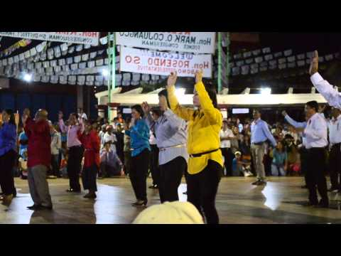 Pozorrubio Barangay Officials dance number