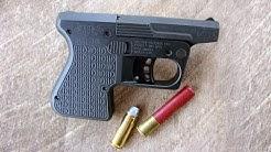 "Shooting the PS1 410 / 45 Colt Single-Shot ""Pocket Shotgun"" from Heizer Defense - Gunblast.com"