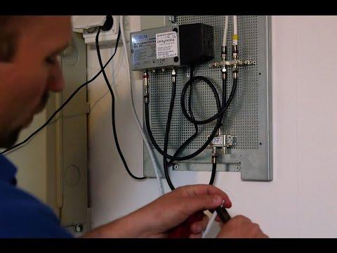 Installationsservice Kabel TV