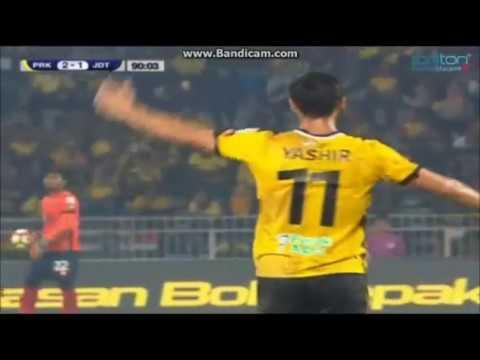 Liga Super Malaysia 2017 【Perak Vs JDT】 (2-1)