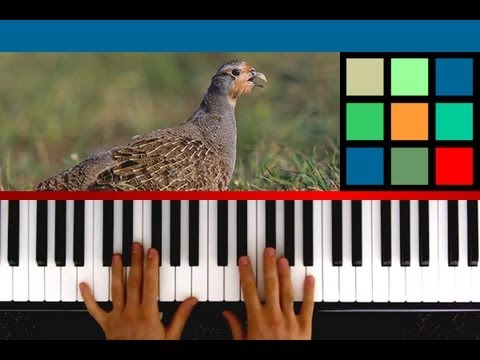 """How To Play """"The 12 Days Of Christmas"""" Piano Tutorial / Sheet Music"""