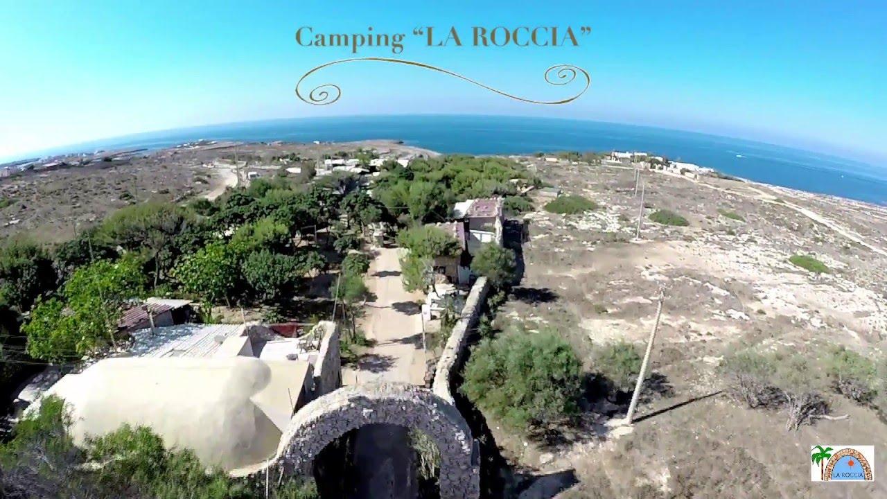 Villaggio la roccia lampedusa youtube for La roccia arredo bagno