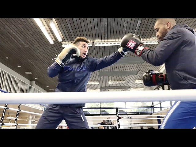BOXING - In the ring with Sofiane Oumiha, Vice-Olympic Champion