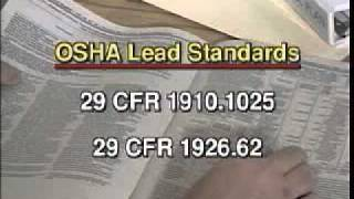 OSHA lead Standards General Refresher- WWW.SAFETYISSIMPLE.COM