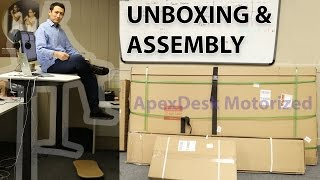 Apex Motorized Standing Desk | Unboxing & Assembly