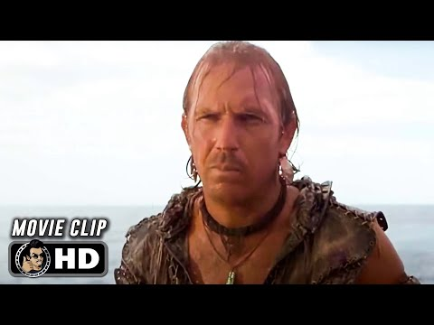 WATERWORLD Clip - Escape The Smokers (1995) Kevin Costner