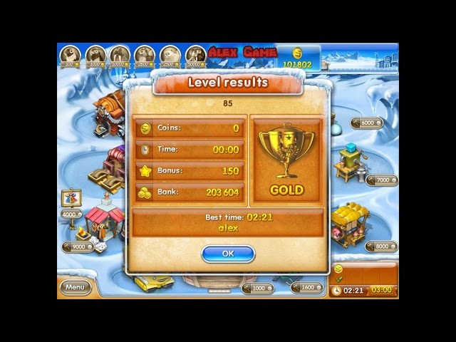 Farm Frenzy 3 Ice Age (level 85) only GOLD ??????? ????? 3 ?????????? ?????? (??????? 85) ??????