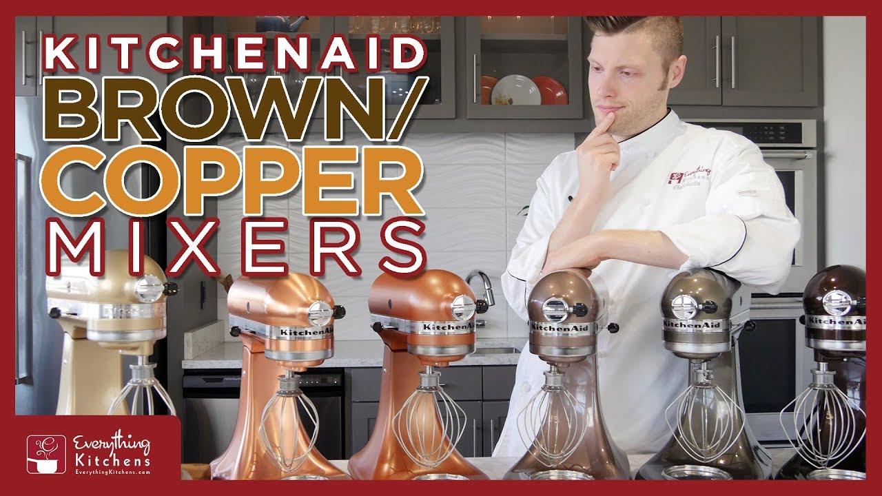 Kitchenaid Copper Mixers Champagne Gold Espresso Apple Cider