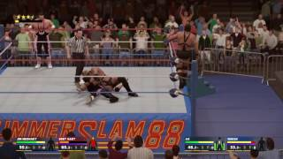 WWE 2K17 Demolition vs. The Hart Foundation - Summerslam 1988