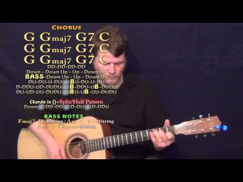 Baby Be My Love Song (Easton Corbin) Guitar Lesson Chord Chart with TAB