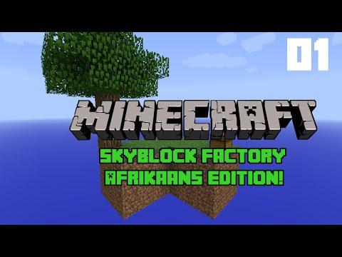 Minecraft in Afrikaans \\ Skyblock Factory #1 \\ #ReefTV
