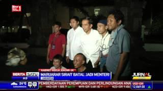 Maruarar Sirait Batal Menjadi Menteri