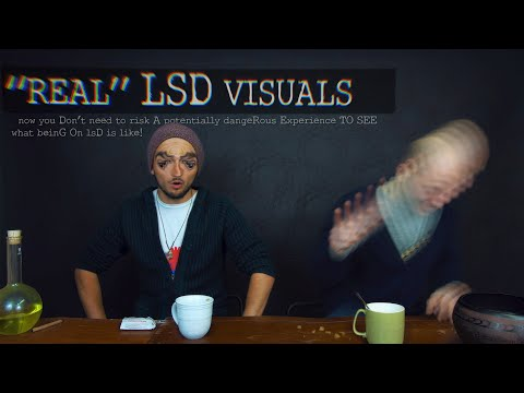 "Live LSD Simulation: ""An Interactive Trip"" (EDUCATIONAL CONTENT)"