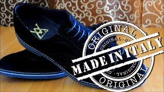 ОБЗОР посылки из Италии, туфли ручной работы (Derby)