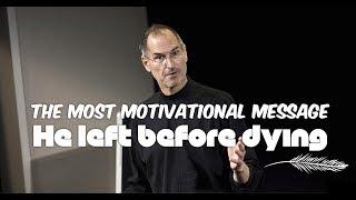 The Most Motivational Talk - Steve Jobs's Secret to Success
