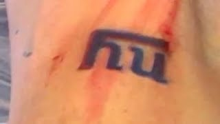 Getting My GIANTS TATTOO