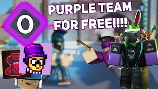 how to get purple team in arsenal.. | ROBLOX