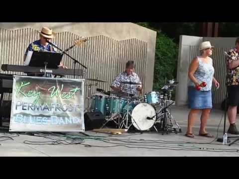 Key West Permafrost Blues Band gets audience dancing at free concert