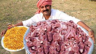 Dal Mutton Gosht Recipe  Hyderabadi Special Dal Mutton Gosht  Master Kitchen