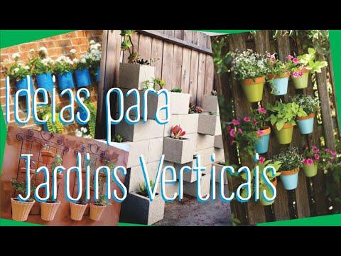 Ideias simples para fazer um Jardim Vertical - YouTube