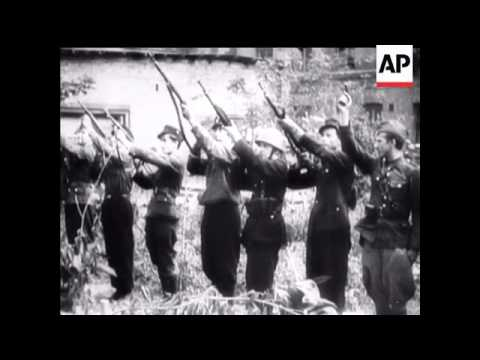 WARSAW UPRISING 1944/1945 - NO SOUND