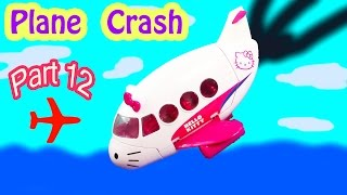 MLP Airport - Plane Crash - My Little Pony Travel Part 12 Apple Jack Bloom Series Video